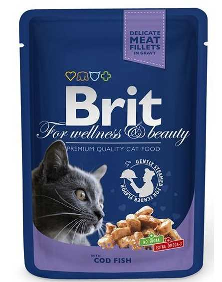 Brit konserve kedi maması